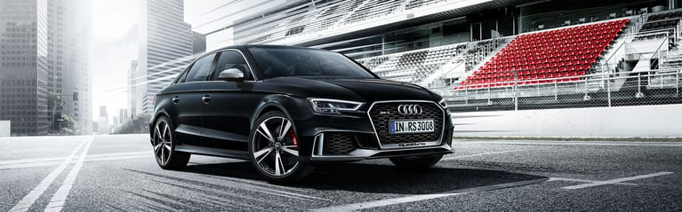 Voorkant Audi RS3 Berline