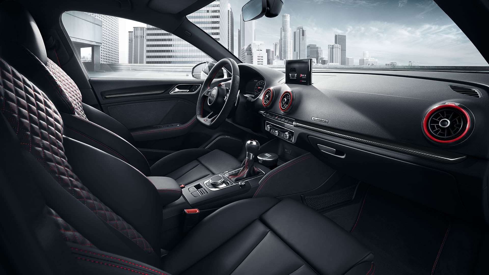 Interieur Audi RS3 Berline