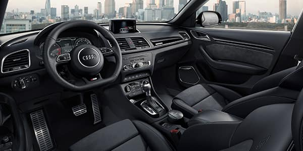 Audi q3 q3 audi belgi for Interieur q3 s line