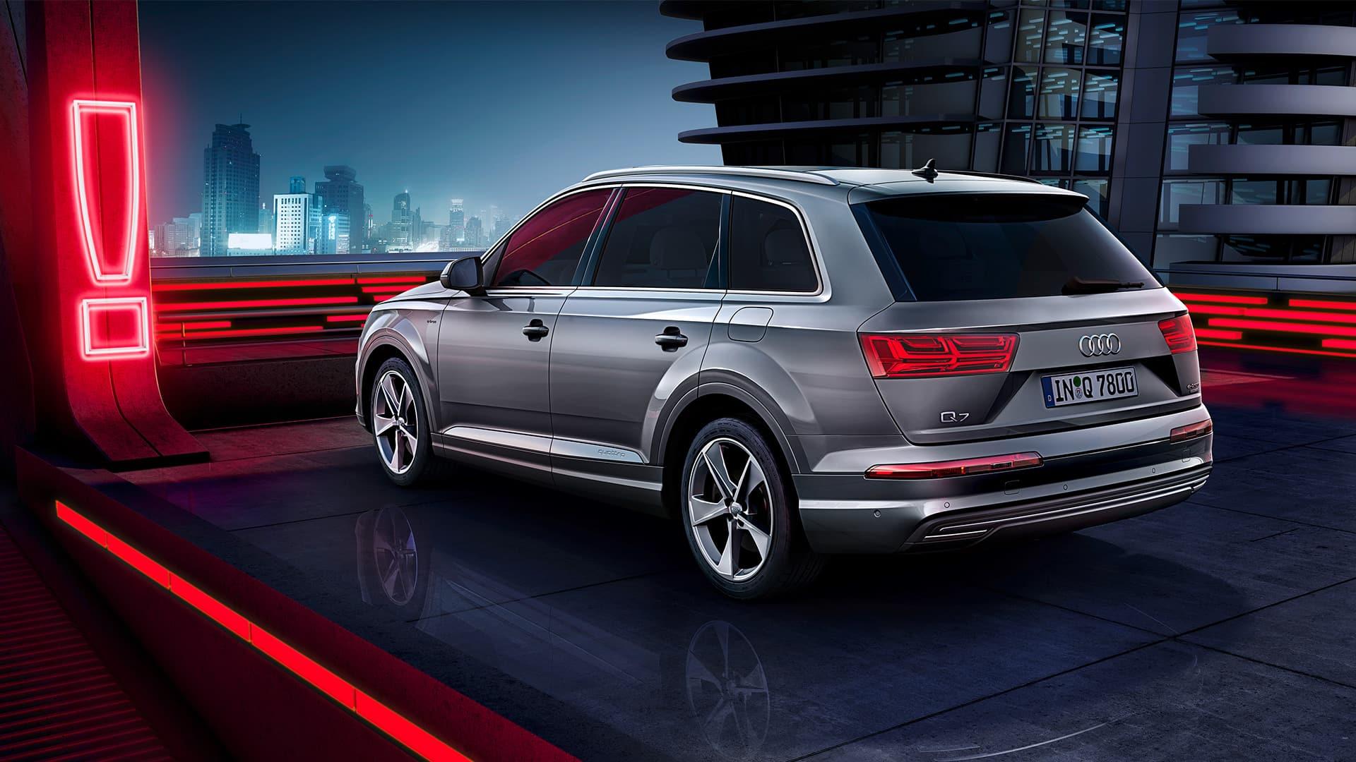Audi Q7 e-tron quattro > Q7 > Audi België