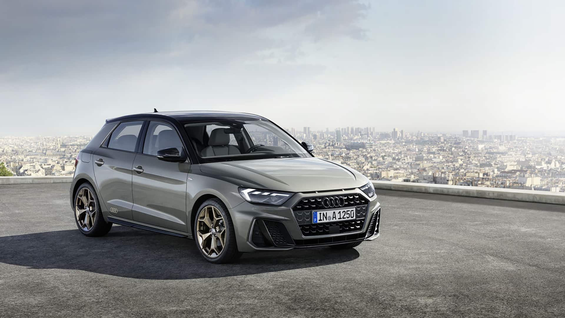 Audi A1 Sportback design in een digitale fase