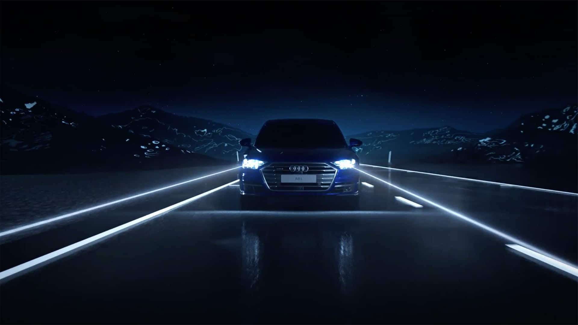 Audi A8 Light Design laserlicht