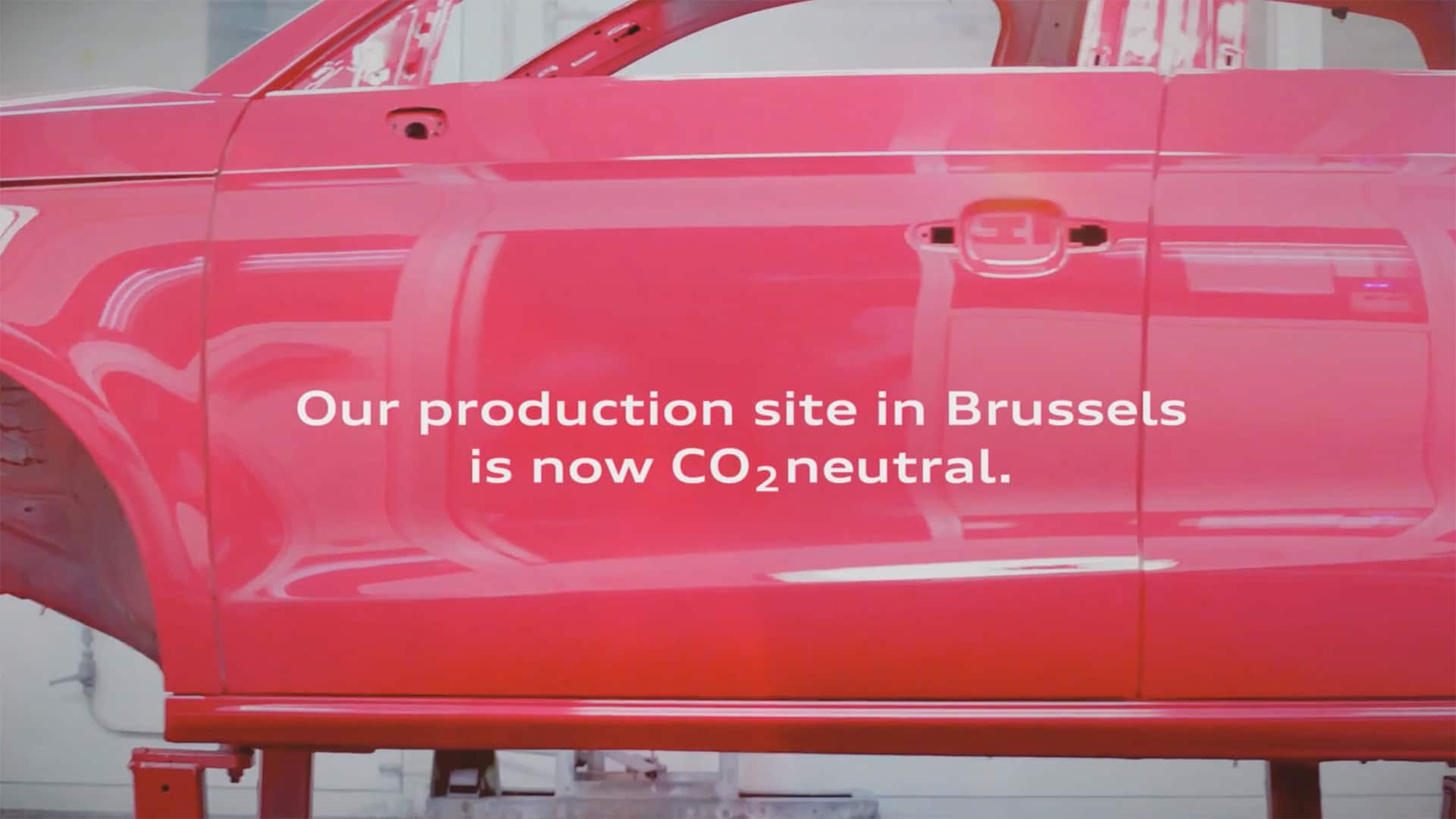 Audi Brussels is CO2-neutraal!