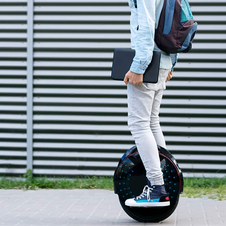 Micromobilité : gyroroues et hoverboards
