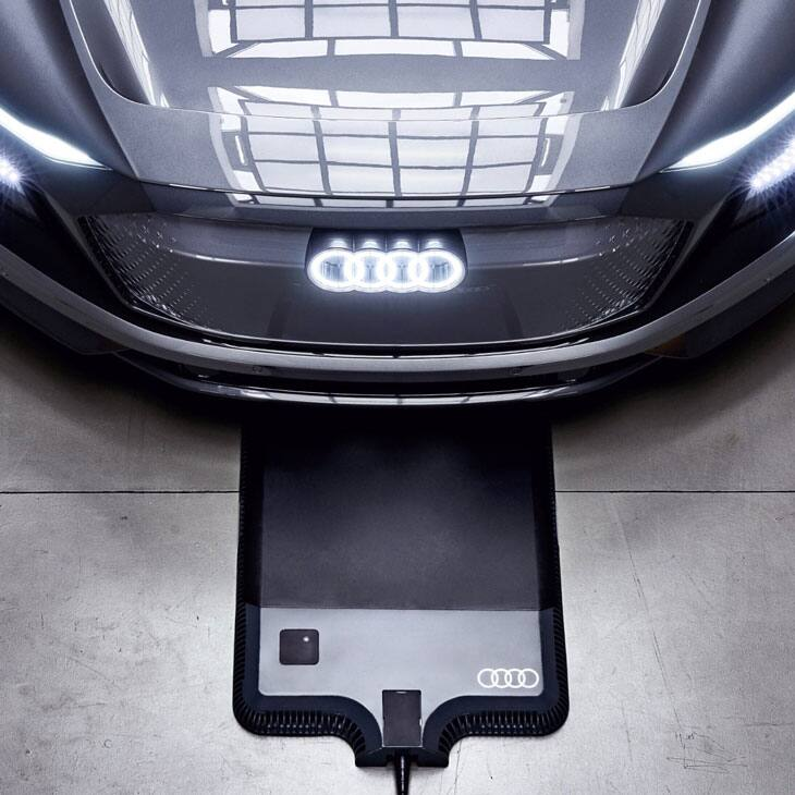 Audi Wireless Charging System