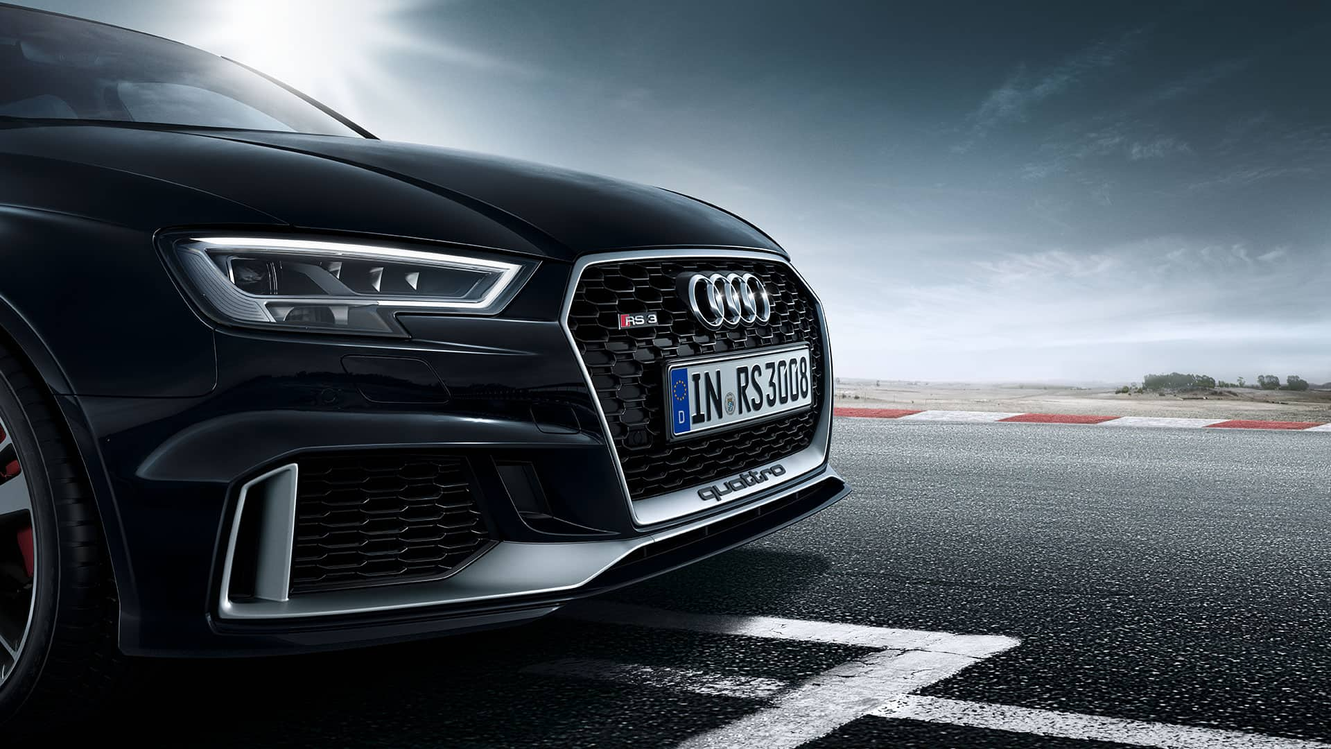 Koplamp en grill Audi RS3 Berline