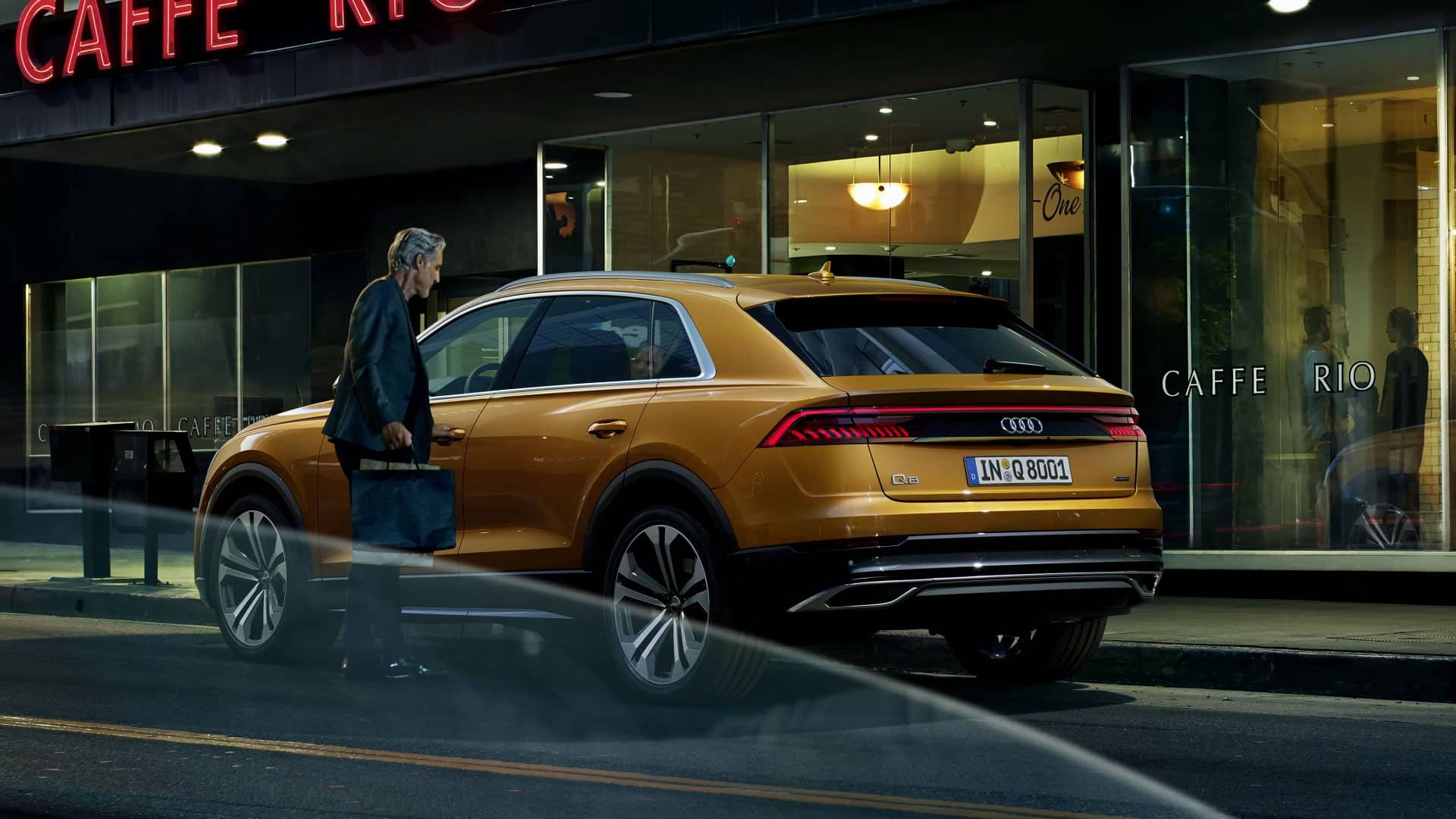Audi Q8 luxe SUV
